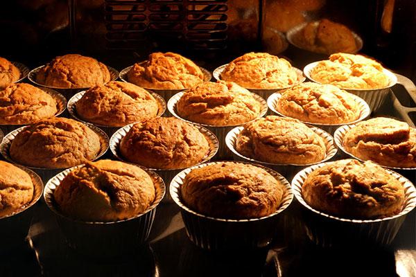 cottura muffin