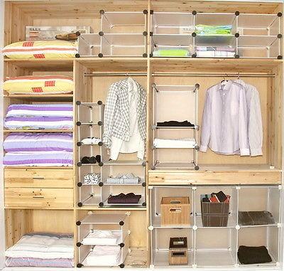 MaggieDoll 2x2 DIY Cube Storage Cupboard Cabinet