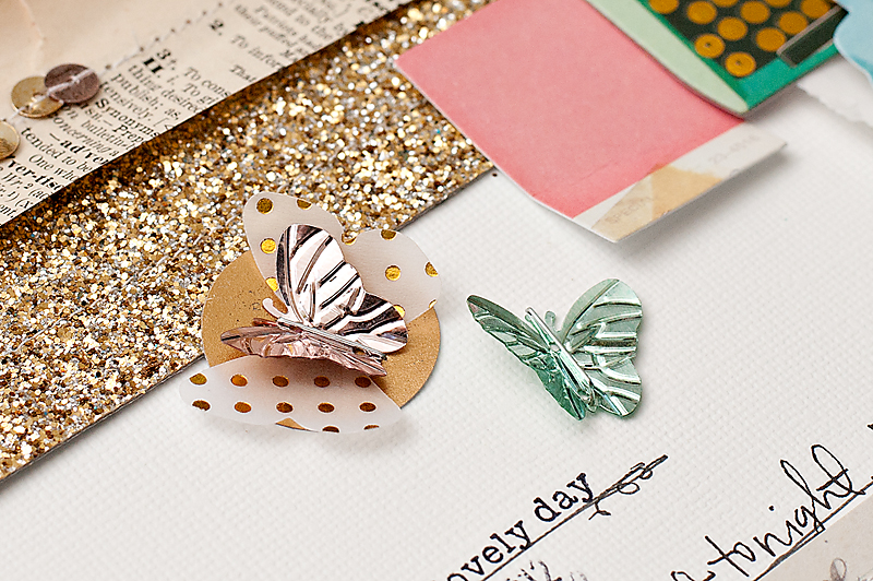Maggie Holmes Crate Paper Styleboard Scrapbook Page-5