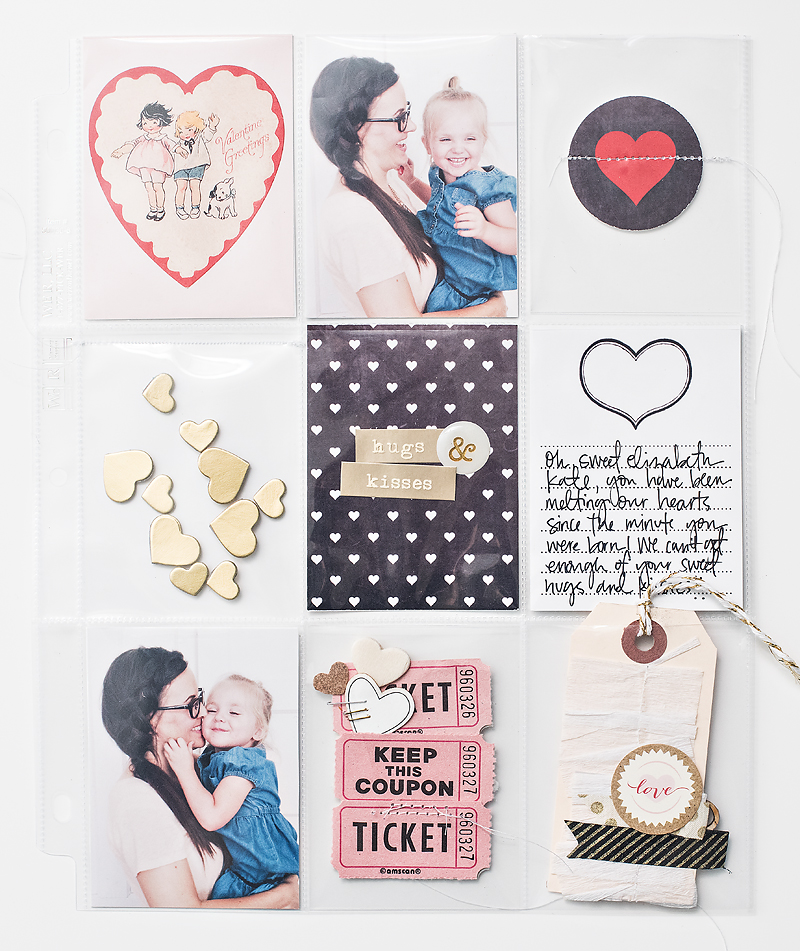 Maggie Holmes Valentines Printables Pocket Page-2