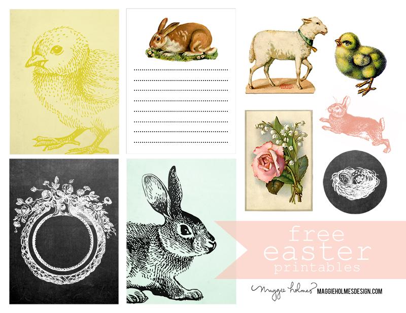 Free Easter Printable & Vintage Clip Art Easter Clip Art Free Retro