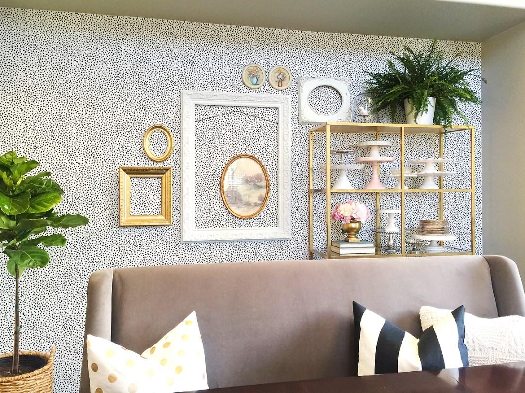 Dining Room Shelves & Tips for Styling