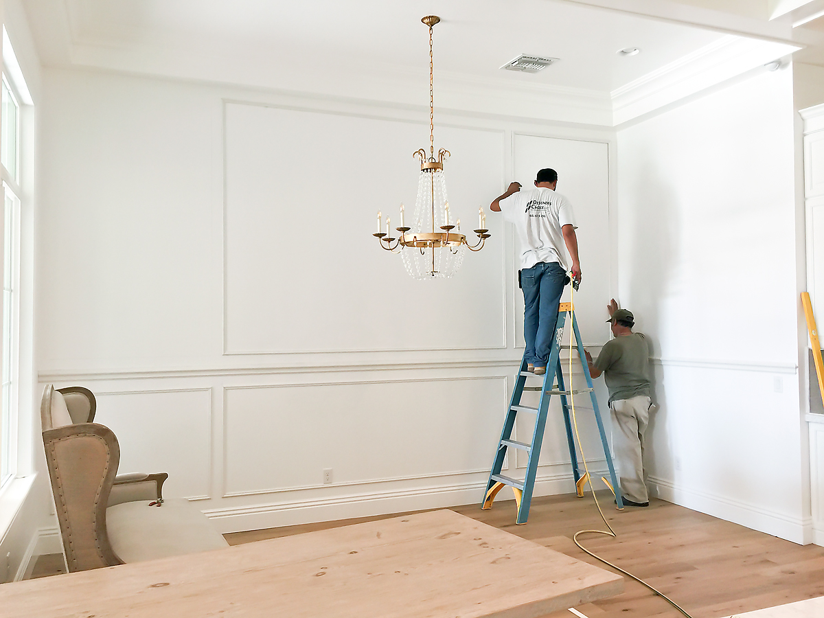 How To Install Panel Moulding