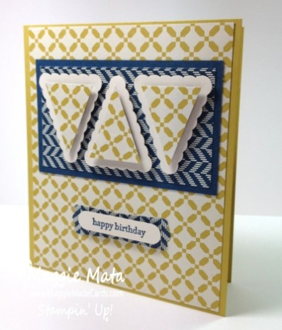 Stampin Up A Young Mans Birthday Card Maggie Made Card