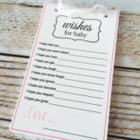 Wishes for Baby Keepsake