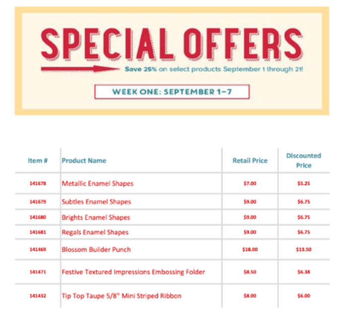 Special Offers-US