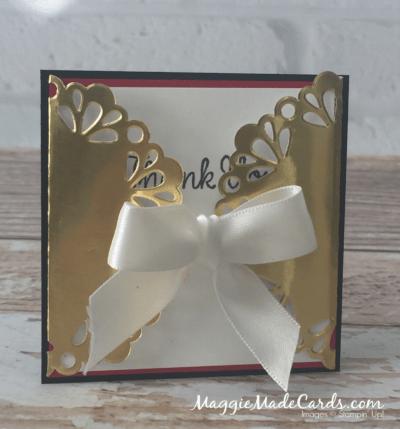 Gold Foil Doily