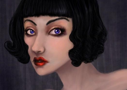 Digital Painting #10: Persephone