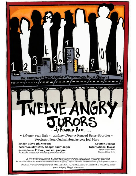 #43: Twelve Angry Jurors Poster