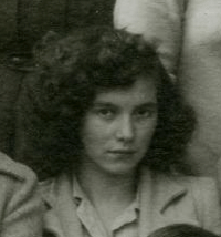 Mom 1945 6 Parry Sound High School picture