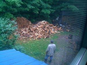 Attila's Wood Mountain becoming a molehill.