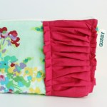 {pretty bouquet make-up bag}