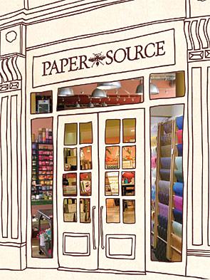 {Paper Source ~ a Minneapolis shop}