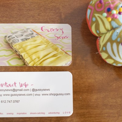 {a simple way to improve your business cards}