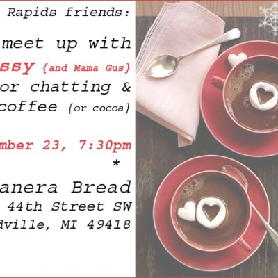 {Grand Rapids, MI meet-up}