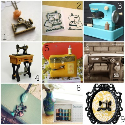 {etsy finds :: sewing machine fun}