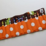 {saturday craft: sew a crayon roll-up}