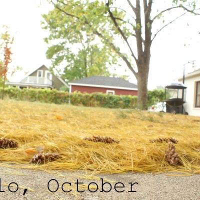 {helloooo, October!}