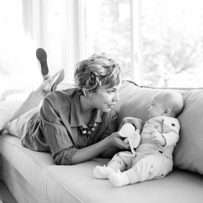 {What it means to be a mom for the first time. // by Erin Loechner}