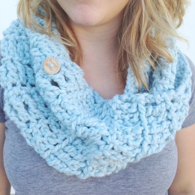 It's time — our crocheted infinity cowls are back!