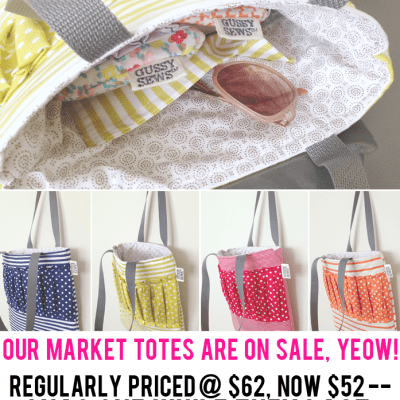 Our Market Totes are on sale!