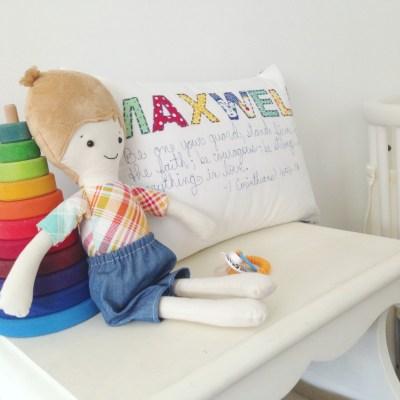 How we created Maxwell's nursery nook.