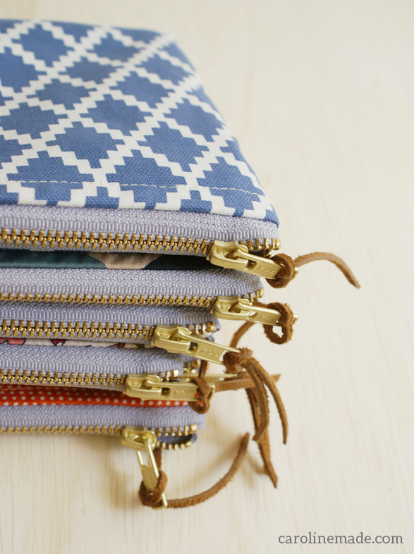 pouch caroline-made maggie whitley