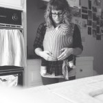 On baby wearing and creating.