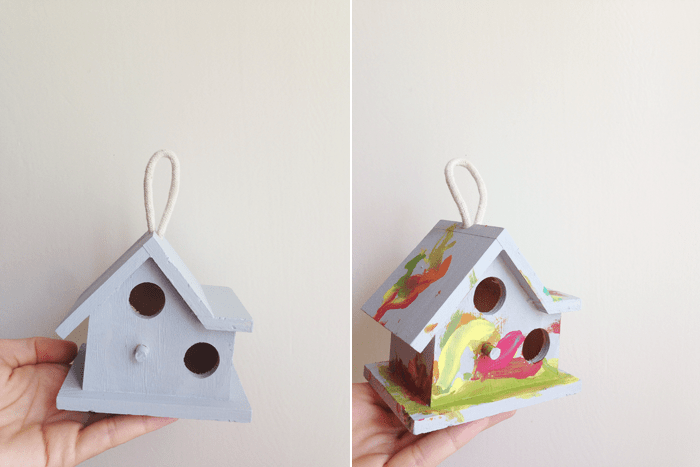 painted birdhouse maggie whitley