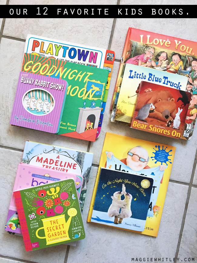 our 12 favorite kids books | maggie whitley designs