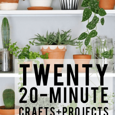 """Twenty """"20-minute crafts"""" you must try!"""