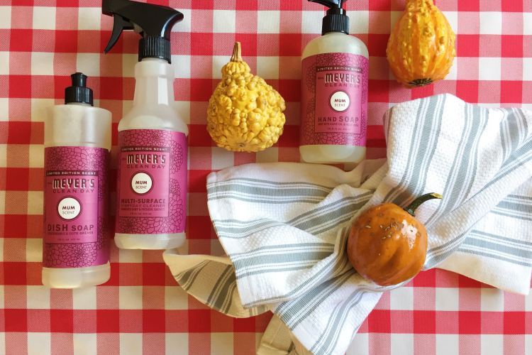 The Mrs. Meyer's Fall cleaning kit is back!