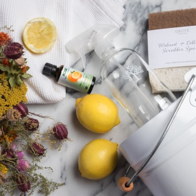 Create a toxin-free home with essential oils!