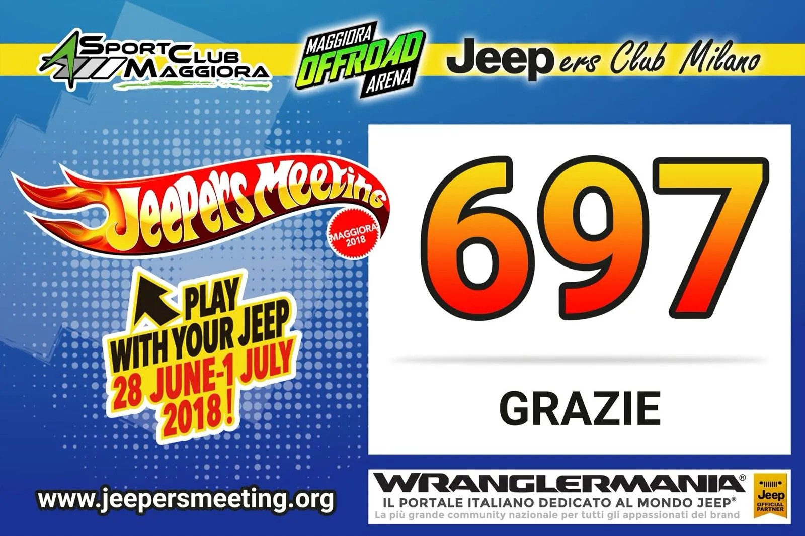 16^ Jeepers Meeting, ancora record!