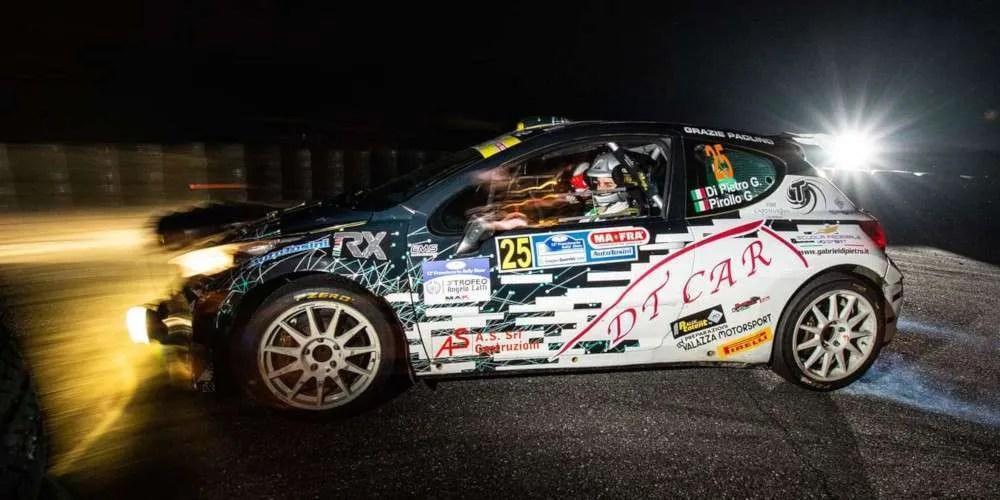 Ottimo esordio nei rally per Gabriel Di Pietro