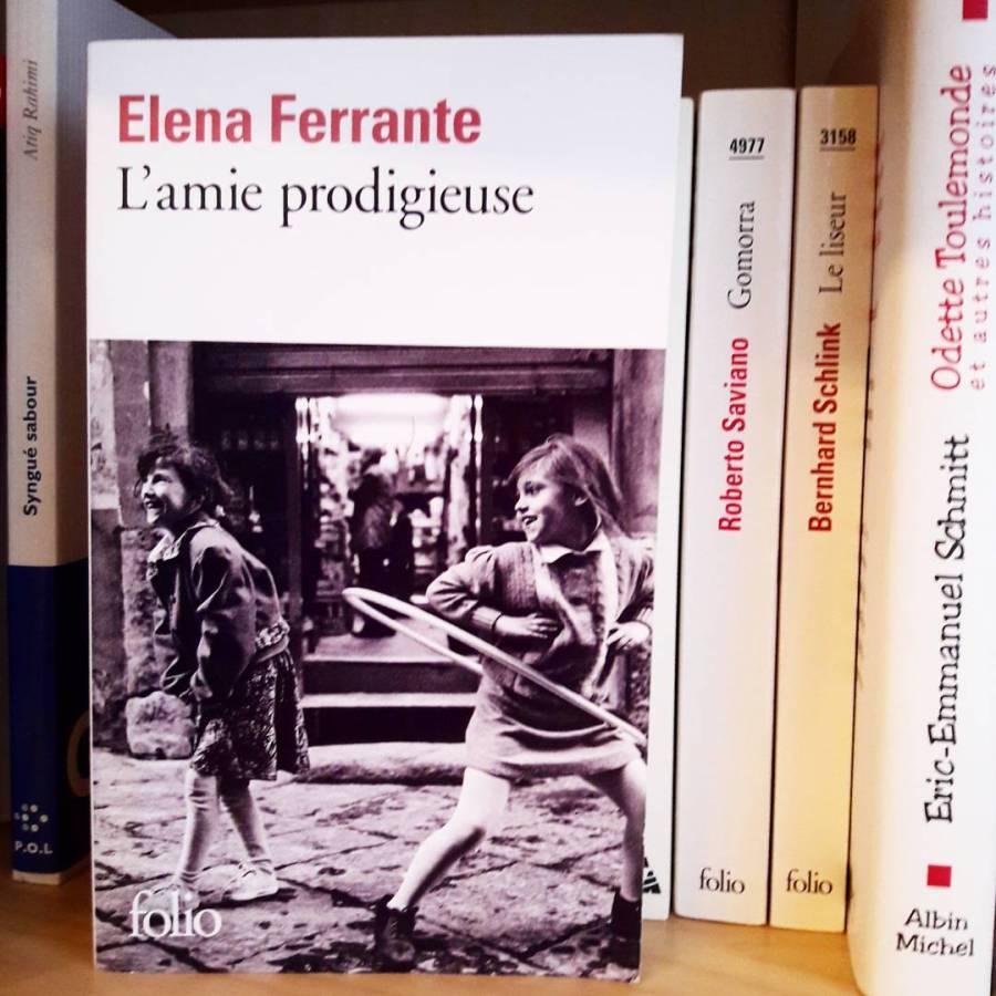 Amie prodigieuse Elena Ferrante