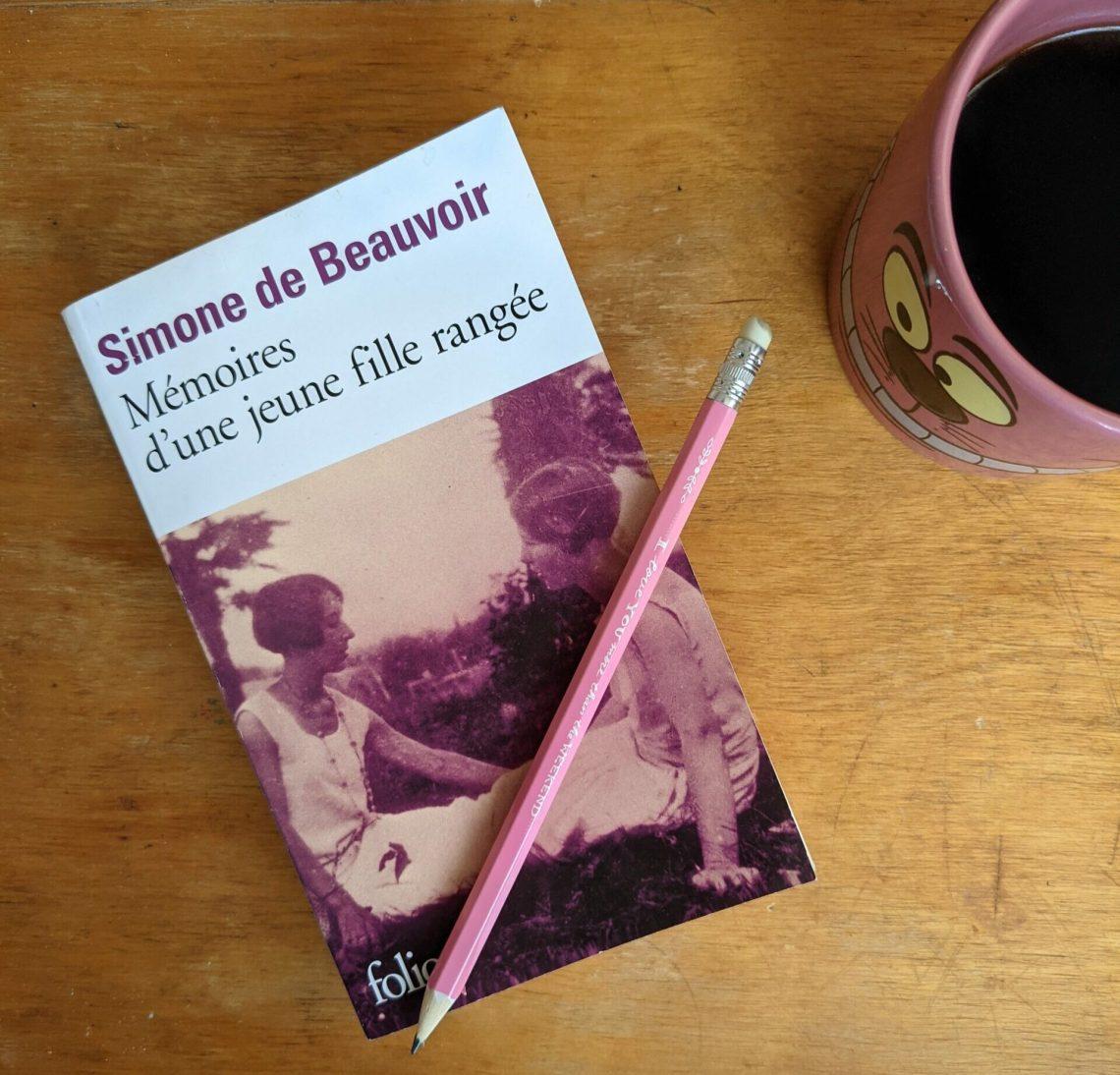 Couverture de Mémoires d'une jeune fille rangée de S. de Beauvoir