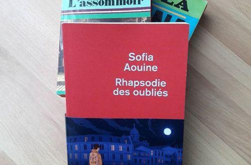 Rhapsodie des oubliés de Sofia Aouine
