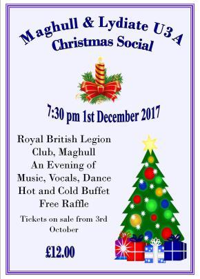 Christmas Social Poster 2