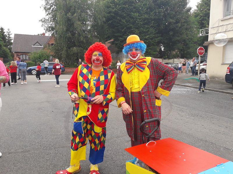 magic clown déambulatoire