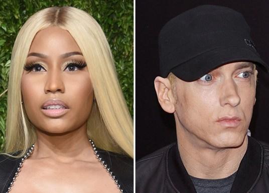 Nicki Minaj Sparks Eminem Dating Rumors