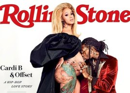 Cardi B and Offset Cover Rolling Stone