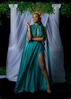 "Miss Vincentian Chocolate - Megan Greaves - ""Gaia - Goddess of Earth"""
