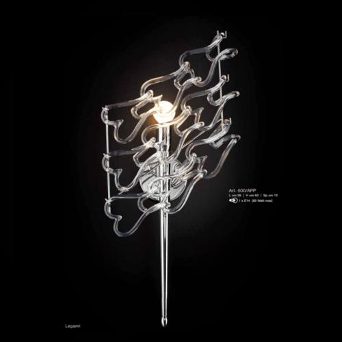 Lamp Di Patrizia Volpato Applique Legami 500/APP
