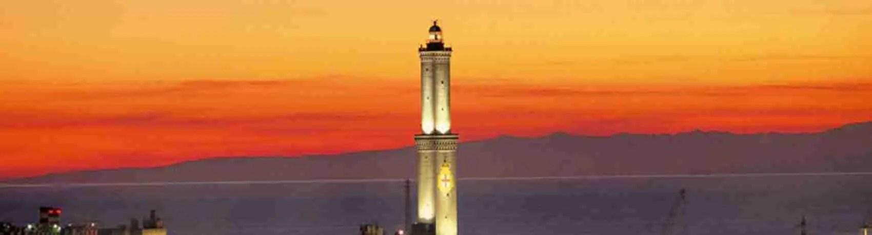 Per una serata romantica in compagnia di una escort Genova, la Lanterna di Genova è perfetta per creare la giusta atmosfera.