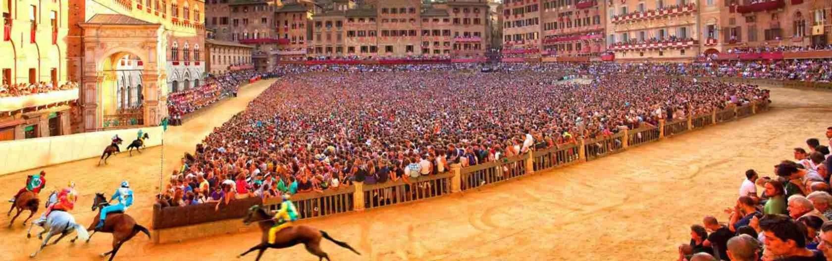 Le escort Siena amano l'eccitazione e l'adrenalina del Palio di Siena.