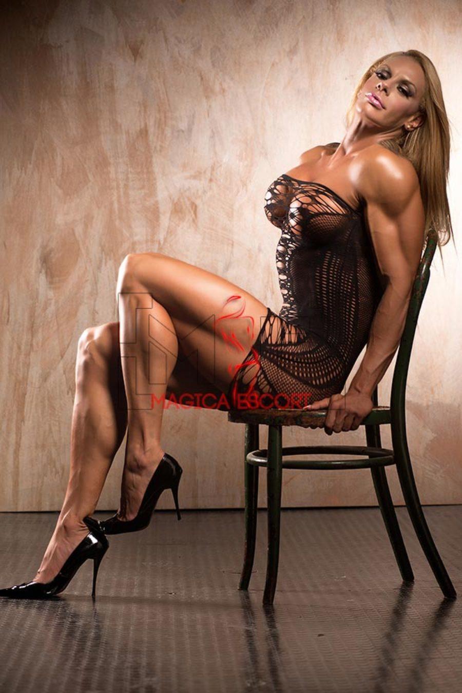 Larissa escort Roma, un trionfo di muscoli perfetti.