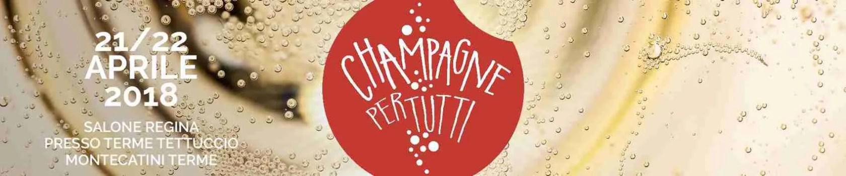Champagne per tutti. La manifestazione dedicata allo champagne di Montecatini Terme (PT).