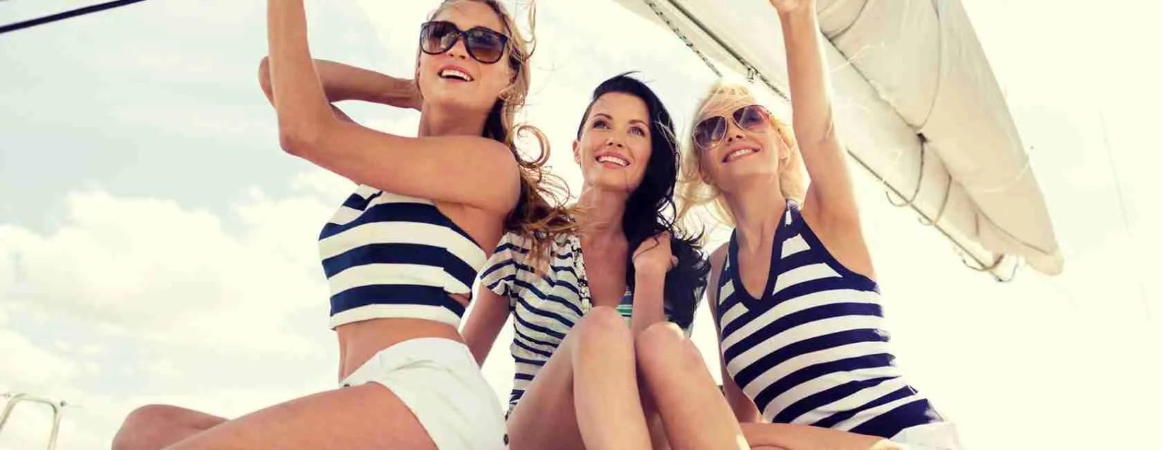 Vacanze in barca alle Isole Pontine in compagnia delle escort Latina. Magica Escort