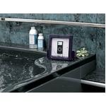 ツインバード 防水スピーカー X ZABADY(エックスザバディ) ブラックカラー AV-J122B FMラジオ付き【お風呂で、台所で音楽が楽しめる】